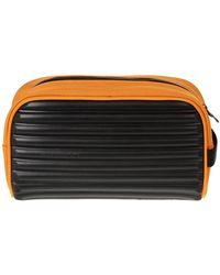 Mandarina Duck Beautycase toiletbag Waschtasche Kulturbeutel Kosmetik-Kultur-Tasche (Orange/Arancio)