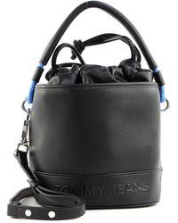Tommy Hilfiger Tjw Femme Bucket Bag Black