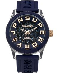 Superdry Women's Watch - Syl174urg - Blue