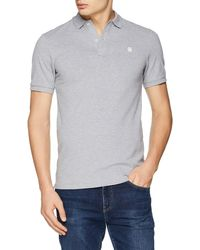 G-Star RAW Dunda Slim Polo S/s Shirt - Grey