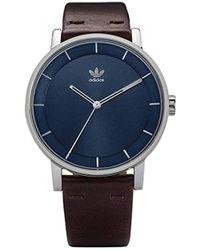 e350a7057b0e4 Analogue Quartz Watch With Leather Strap Z08-2920-00 - Blue