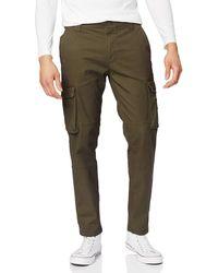 Calvin Klein Jeans Cargo Trousers Slim Military Green