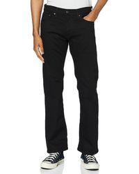 Levi's 527 Slim Boot Cut Jeans - Schwarz