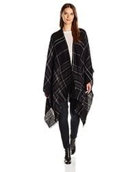 Michael Stars - Plaid To See You Cape - Lyst