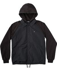 RVCA - Puffer Game Day Jacket - Lyst