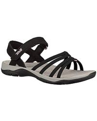 8bae30ceb142 Teva - Elzada Sandal Web Women s Sandals In Black - Lyst