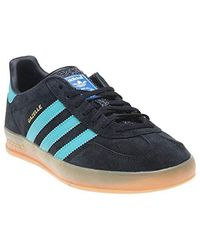 discount sale sale check out adidas Gazelle Super Men's Shoes (trainers) In Blue for Men ...