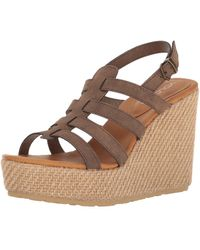 adidas High Society Ankle Strap Sandals - Brown