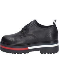 Tommy Hilfiger Flag Outsole Lace Up Shoes En0en00987 Bds Black Black