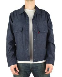 Levi's S Levis Commuter Pro Trucker Jacket in Dark Blue - Blau