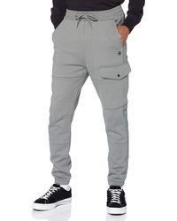 G-Star RAW Side Stripe Utility Sweatpant Pantalones Casuales - Azul