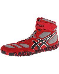 12M Asics Mens Aggressor 4 Wrestling Shoes Black//Black