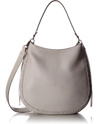 Rebecca Minkoff Unlined Convertible Hobo With Whipstich - Multicolor
