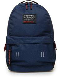 Superdry Hollow Montana Backpack One Size Dark Navy - Blau