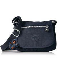 Kipling Sabian Solid Crossbody Minibag - Blue