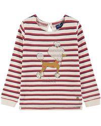 Tom Tailor Kids Mädchen Striped Sweatshirt - Pink