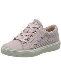 Ecco S7teen, Sneakers Basses Fille - Rose