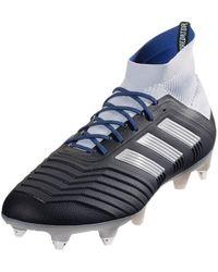 adidas Predator 18.1 SG - Bleu