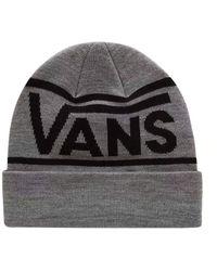 Vans Drop V Stripe Cuff Bonnet - Gris
