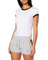 Superdry Carly Carnival Shorts - Gray