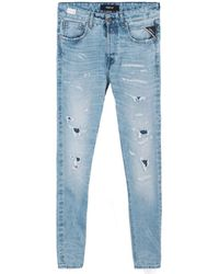 Replay , Jeans Tinmar a Coupe fuselee, Bleu, RPY_M1006 .000.356 788 010-33