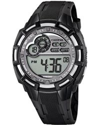 Calypso St. Barth Digital Watch With Lcd Dial Digital Display And Black Plastic Strap K5625/1