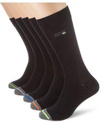 Superdry 5 Pack Sock Calcetines - Negro