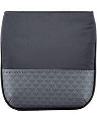 Emporio Armani Logo Pouch Cross Body Bag Noir