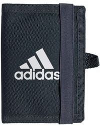 adidas Cy5615 Porte-monnaie 15 centimeters Gris - Bleu