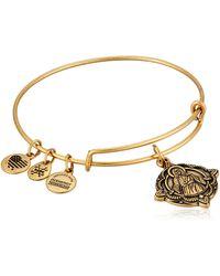 ALEX AND ANI - Jesus Ewb Rafaelian Gold Bangle Bracelet - Lyst