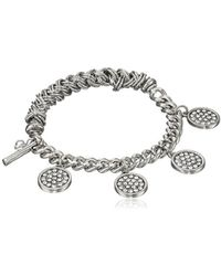 Kenneth Cole - Pave Shaky Circle Stretch Bracelet - Lyst