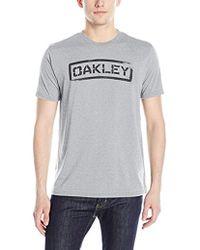 Oakley - Tab T-shirt - Lyst