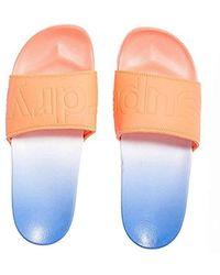 Superdry - 's Faded Beach Slider Flip Flops - Lyst