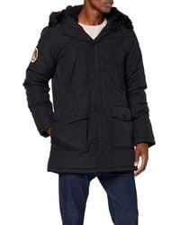 Superdry Everest Parka Jacket Jacke - Schwarz