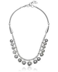 Lucky Brand - S Pearl Collar Necklace - Lyst