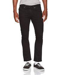 Vans _apparel V46 Tapered Fit Jeans - Black