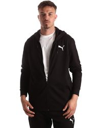 PUMA 845004 M Hooded Sweat Suit (01 - Schwarz