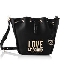 Love Moschino SS21 Seau femme - Noir