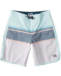 Billabong 73 Spinner Lt Boardshort Board Shorts - Blue