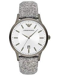 Emporio Armani Horloge AR11155 - Gris