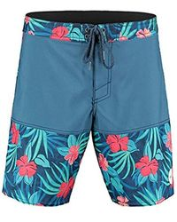 O'neill Sportswear Tropics - Costume da Bagno da Uomo - Blu