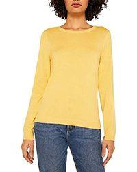 Esprit Suéter para Mujer - Amarillo