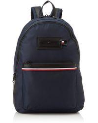 Tommy Hilfiger Modern Nylon Backpack Schultertasche - Blau