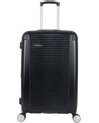 Ben Sherman Norwich Collection Lightweight Hardside Pet Expandable 8-wheel Spinner Luggage - Black