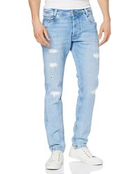Pepe Jeans Spike Straight Jeans - Blue