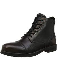 Pepe Jeans London Tom Cut Med Desert Boots - Black