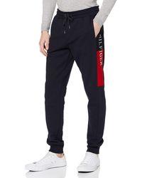 Tommy Hilfiger Hilfiger Intarsia Sweatpants Sport Pullover - Blau