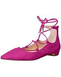 Ivanka Trump Tropica Ballet Flat - Multicolor
