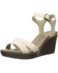 Crocs™ Leigh II Ankle Strap Wedge - Mehrfarbig