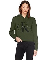 CALVIN KLEIN 205W39NYC - Pop Color Hoodie With Monogram Logo - Lyst